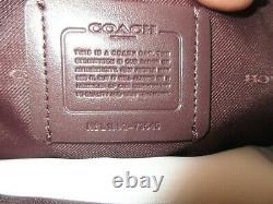 Nwt Authentic Coach 73545 Dalton 31 Pebble Leather Shoulder Bag-$395-aurora