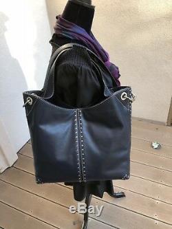Nwt, Michael Kors Astor Studded Leather Large Hobo/crossbody Handbag+wallet$575