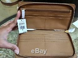 Nwt Michael Kors Hamilton Studded Large Travelers Handbag+wallet Set