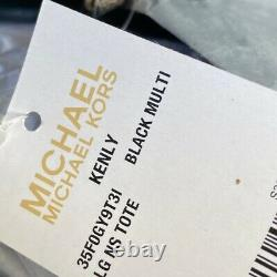 Nwt Michael Kors Signature Kenly Lg Ns Tote/ Double Zip Wristlet Options