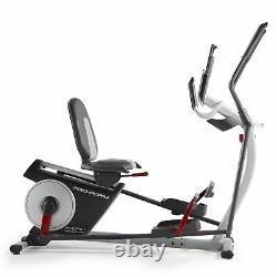ProForm Hybrid Trainer Pro 2 in 1 Cross Trainer Recumbent Exercise Bike