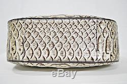 SET of Brahmin Marianna Tote/Shoulder Bag in Pearl Dogwood + Checkbook Wallet