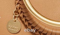 See By Chloe MONROE Bracelet Ring Handle Convertible Tote BROWN Large MSRP $535