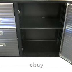 Seville Classics Workbench Ultra HD Heavy Duty Roll Cabinet Commercial 20242ES