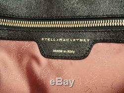 Stella McCartney Black Falabella shaggy deer Shoulder tote Bag New RRP935GBP