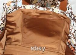 Tory Burch Ella Floral Printed Nylon Logo Tote Shopper Bag Handbag Purse NWT