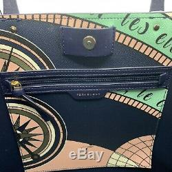 Tory Burch Handbag Kerrington Square Tote Constellation Msrp $298