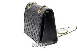 Tory Burch SAVANNAH Black Convertible Adjustable Shoulder Bag Crossbody Purse