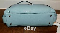 350 $ Nouvel Entraîneur Edie 31 Sage Caillou Bleu Sac Bandoulière En Cuir Sac À Main 57125