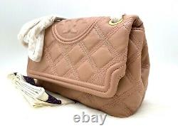 Auth T.n.-o. 528 $ Tory Burch Fleming Quilted Soft Leather Convertible Shoulder Bag