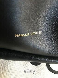 Authentique Mansur Gavriel Sac En Peau D'agneau Nuage D'embrayage