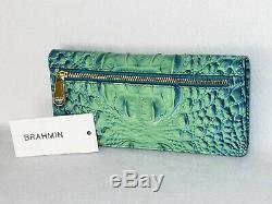 Brahmane Dramatique Oean Bleu Vert Ombre Bliss Brayden Epaule Tote & Wallet Tn-o