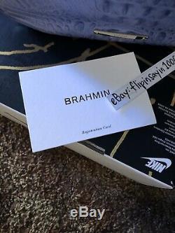 Brahmane Melbourne Marianna Pervenche Sac À Main Fourre-tout D'épaule P54 151 00213