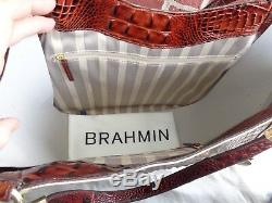 Brahmane Tn-o Marianna Rose D'or Provence Tote Sac Hobo Avec Soft Chéquier Set