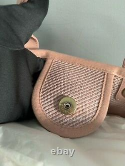Chanel 20a Pink Deauville Tote Large Gst Grand Shopper 2020 Blush Leather T.n.-o.