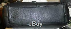 Coach 57545 Lexy Épaule Sac À Main Sac Fourre-tout Or Noir Sac Besace En Cuir