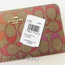 Coach City Tote Rainbow Purse Wristlet Wallet Card Case Set Options Nwt