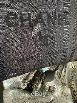 Deauville Noir Fourre-tout Chanel Or 2020 Tps Grand-sac