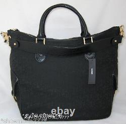 Dkny T & C Turnlock Logo Business Travel Bag Fourre-tout Portefeuille Sac À Main Ensemble Nouveau Authentique