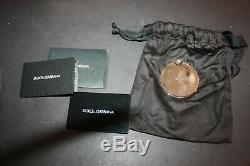 Dolce & Gabbana Mlle Sicile Carretto Grande Toile Satchel Poignée Supérieure Nwot