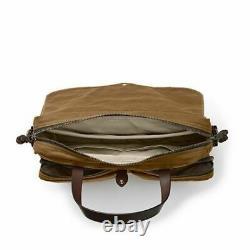 Filson 24 Heures Tin Briefcase 70140 Tan Nouveau Modèle