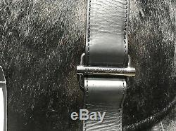 Giorgio Armani Emporio-poney-peau Sac À Dos Sac À Dos Rrp De 1690 Bnwt