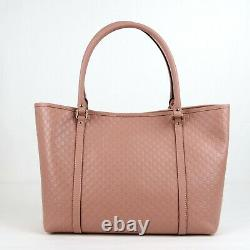 Gucci Pink Gg Micro Guccissima Cuir Large Joy Sac 449647 5806