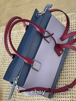Kate Spade Cameron Leather Satchel Crossbody Sac À Bandoulière Lilas 399 $