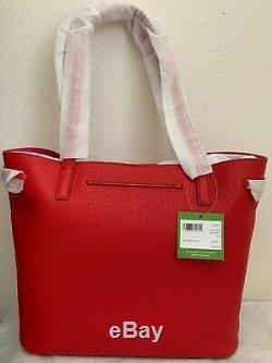 Kate Spade Hayes Street - Sac Fourre-tout En Cuir Grainé Nandy 298 $ Royal Red