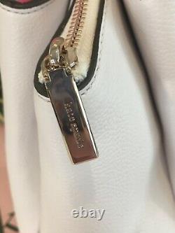 Kate Spade Monet Grand Compartiment Triple Sac À Bandoulière Sac Sac À Main Cuir Blanc