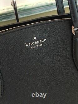 Kate Spade Monet Grand Sac À Bandoulière Fourre-tout En Cuir Noir 399 $
