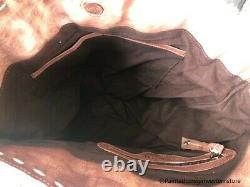 Lit Stu Barra Teak Driftwood Bone Glove Tote Purse A610045 Tkdbng