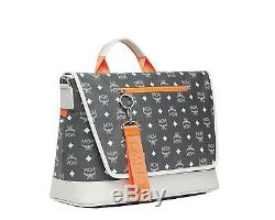 MCM Resnick Visetos Messenger Bag Nylon Nouveau