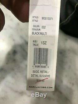 Marc Jacobs Squeeze Lg Épaule Messenger Sac En Daim Noir Italien 595 $