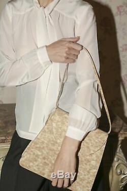 Maryam Nassir Zadeh Mnz Nwq Sophie Blond Pvc Écaille De Tortue Sac À Bandoulière Sac À Main