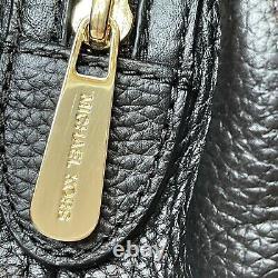 Michael Kors Black Leather Large Slouch Chain Sac À Bandoulière Jet Set Tote