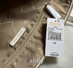 Michael Kors Ciara Large East West Top Zip Tote Saffiano Cuir En Blanc