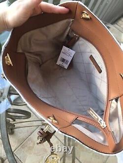 Michael Kors Femmes Cuir Épaule Sac À Main Sac De Purse Sac + Wristlet ID Wallet