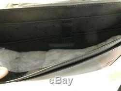 Michael Kors Harrison Jet Set Signature Laptop Messenger Bag Black Bagages 448 $