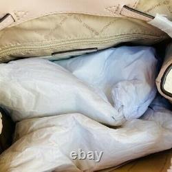 Michael Kors Jet Set Large Blush Chaîne Pvc Sac À Dos Flap Livre De Poche / Options Wallet