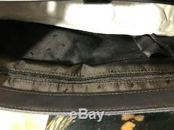 Michael Kors Jet Set Signature Harrison Laptop Messenger Bag Baltic Bleu 448 $