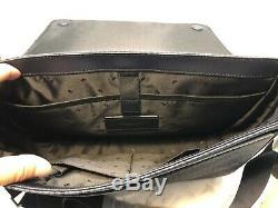 Michael Kors Jet Set Signature Mens Cooper Laptop Messenger Bag Bleu Multi 448 $