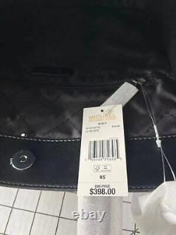 Michael Kors Kenly Grand North South Tote Crossbody Signature Mk Bag Noir