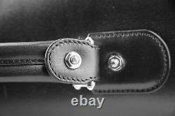 Montblanc Meisterstuck Grand Sac Double Mallette Cuir Noir 106019 2000 $