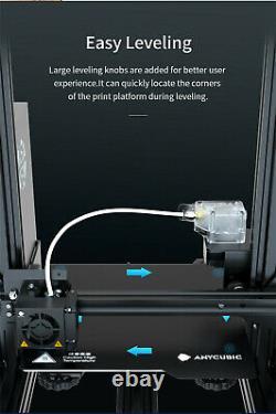 Nouveau! Anycubic Mega Zero 2.0 Imprimante 3d Grande Taille D'impression Lit D'impression Magnétique