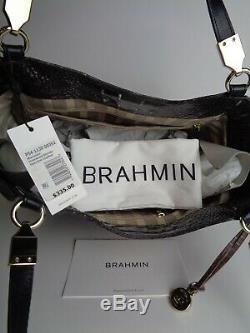 Nouveau Brahmane Ironwood Marianna Tote En Cuir Alzette Nwt 335 $