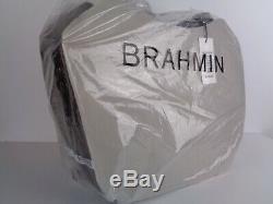 Nouveau Brahmane Patina Marianna Cuir Tote Tn-o 295 $ Impeccable