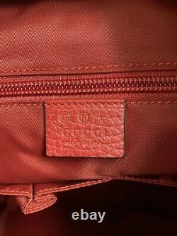 Nouveau Sac À Dos Gucci Nylon Rouge Gg Guccissima Large