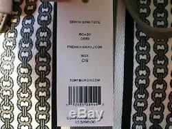 Nouveau Tory Burch 60497-036 Gemini Lien Grand Sac Fourre-tout Sac Grey Françaises 298 $