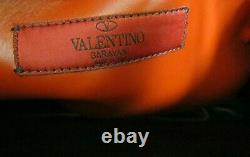 Nouveau Valentino Garavani Black Rock Clouté, Chaîne, Quilted Shopper Sac À Main Grand